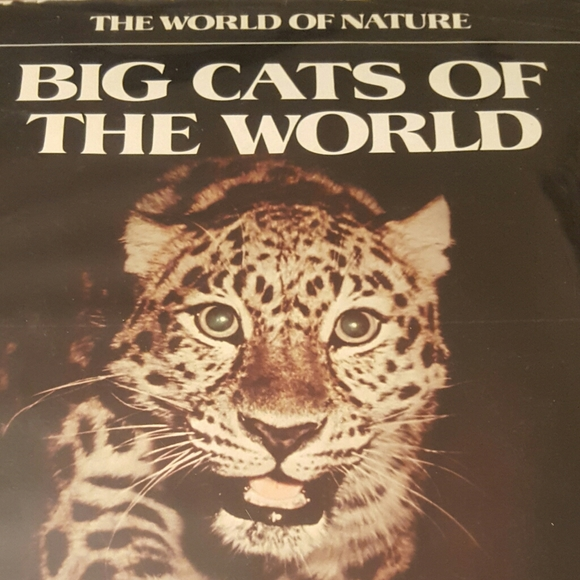 1975 FIRST PRINTING THE WORLD OF NATURE BIG CATS O